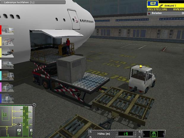 Flugzeug Spile